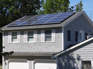 Mathie solar array Trenton ME