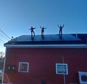 solar panels Searsport