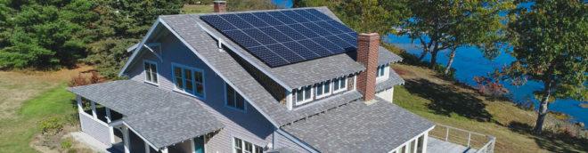 solar panels Maine freeport